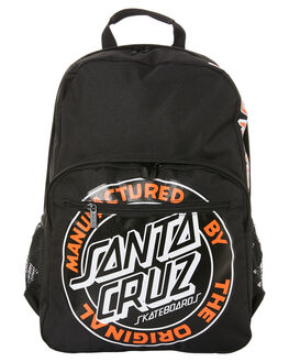 BLACK MENS ACCESSORIES SANTA CRUZ BAGS + BACKPACKS - SC-MAA0830-3BLK