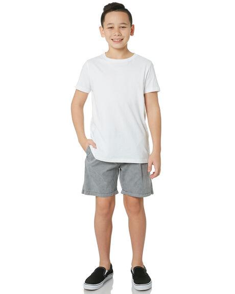 STONE GREY KIDS BOYS SWELL BOARDSHORTS - S3184234STGRY