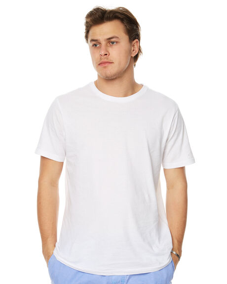 WHITE MENS CLOTHING RIP CURL TEES - CTECW21000