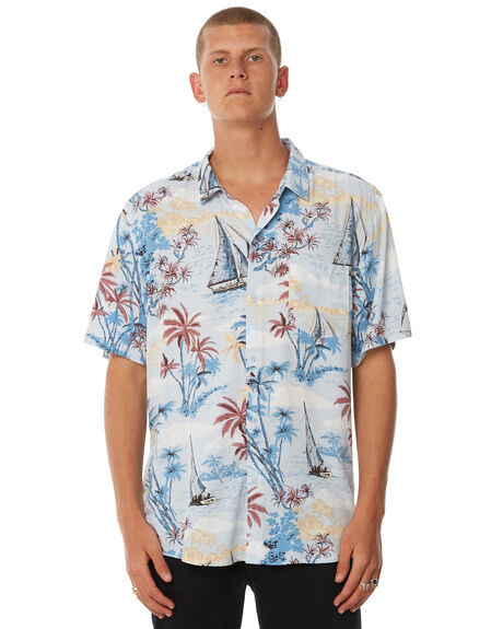 BLUE OUTLET MENS SWELL SHIRTS - S5184174BLUE
