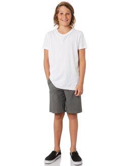 BLACK HEATHER KIDS BOYS HURLEY SHORTS - CT1717032