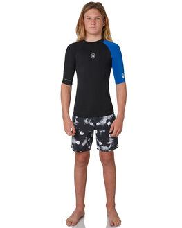 BLACK BLUE BOARDSPORTS SURF FAR KING BOYS - 2161BLKBL