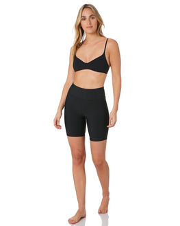 BLACK WOMENS CLOTHING HURLEY ACTIVEWEAR - CK6330010