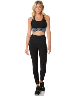 BLACK WOMENS CLOTHING LORNA JANE ACTIVEWEAR - 021984BLK
