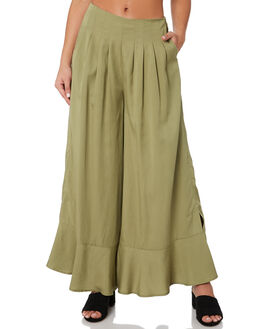FERN WOMENS CLOTHING SANCIA PANTS - 820AGREEN