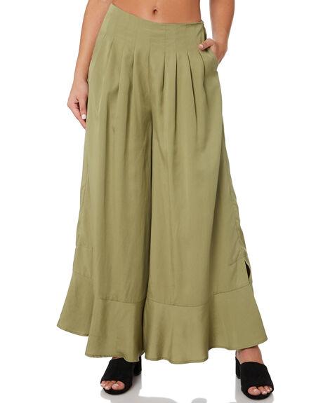 FERN WOMENS CLOTHING SANCIA PANTS - 820AGREEN