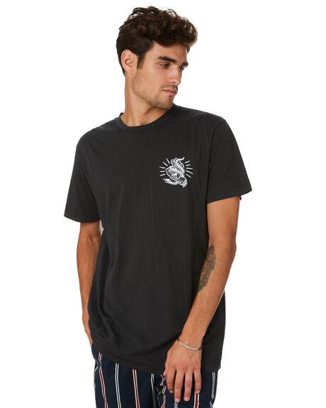 PIGMENT BLACK MENS CLOTHING SANTA CRUZ TEES - SC-MTA0483PGBLK