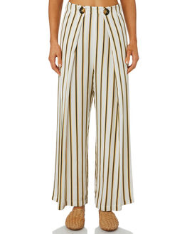 CILOU STRIPE WOMENS CLOTHING SANCIA PANTS - 689ASTRIP