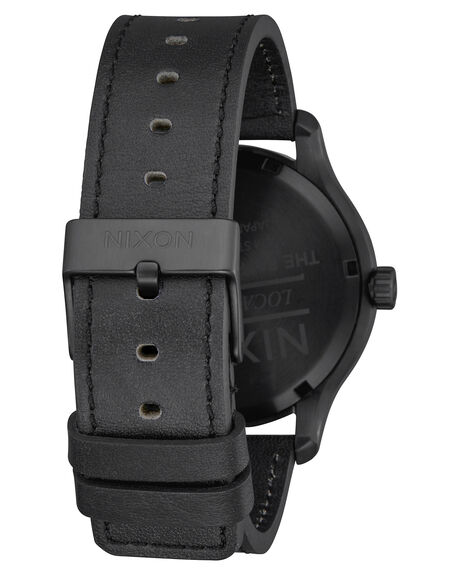 BLACK SILVER BLACK MENS ACCESSORIES NIXON WATCHES - A12432998