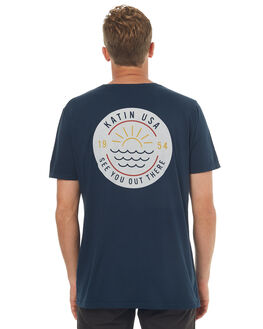 NAVY MENS CLOTHING KATIN TEES - TSSUNF17NVY
