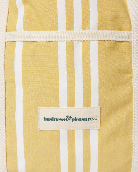 VINTAGE YELLOW WOMENS ACCESSORIES BUSINESS AND PLEASURE CO BAGS + BACKPACKS - BPA-BBG-VTG-YEL