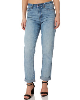 BLUE WOMENS CLOTHING RUSTY JEANS - PAL1092DUB