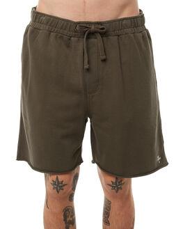 DARK OLIVE MENS CLOTHING THRILLS SHORTS - TA8-307FDOLI