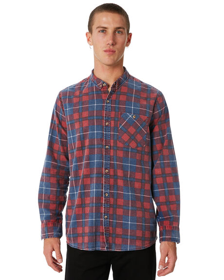 FADED BLUE RED OUTLET MENS ROLLAS SHIRTS - 107271178