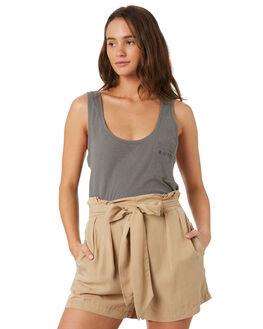 NAVAL GREY WOMENS CLOTHING RUSTY SINGLETS - TSL0566NVG