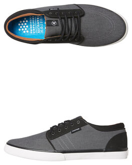 GREY BLACK MICRO MENS FOOTWEAR KUSTOM SNEAKERS - 4982102FGRYBK