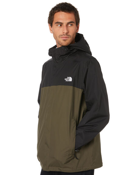 GREEN TNF BLACK MENS CLOTHING THE NORTH FACE JACKETS - NF0A2VD3G1N