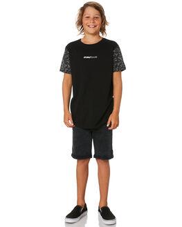 BLACK KIDS BOYS ST GOLIATH TOPS - 2421003BLK