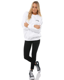 WHITE WOMENS CLOTHING RUSTY JUMPERS - FTL0672WHT