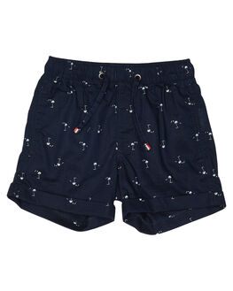 NAVY KIDS BOYS ROOKIE BY THE ACADEMY BRAND SHORTS - R19S608NVY