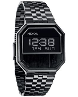 ALL BLACK MENS ACCESSORIES NIXON WATCHES - A158001ABLK