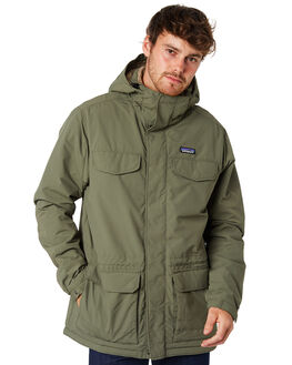 INDUSTRIAL GREEN MENS CLOTHING PATAGONIA JACKETS - 27021INDG