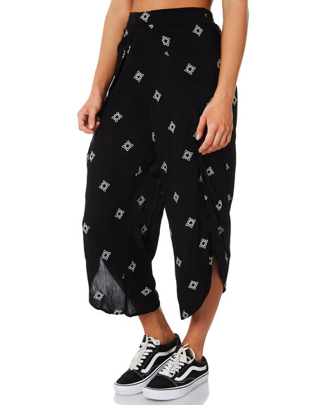 BLACK WOMENS CLOTHING ELEMENT PANTS - 273244BLK