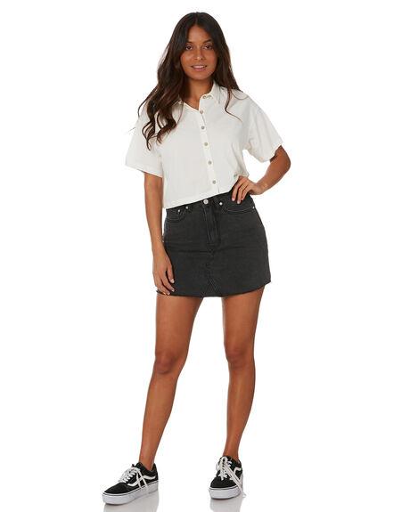 WHITE WOMENS CLOTHING INSIGHT FASHION TOPS - 1000088607WHT