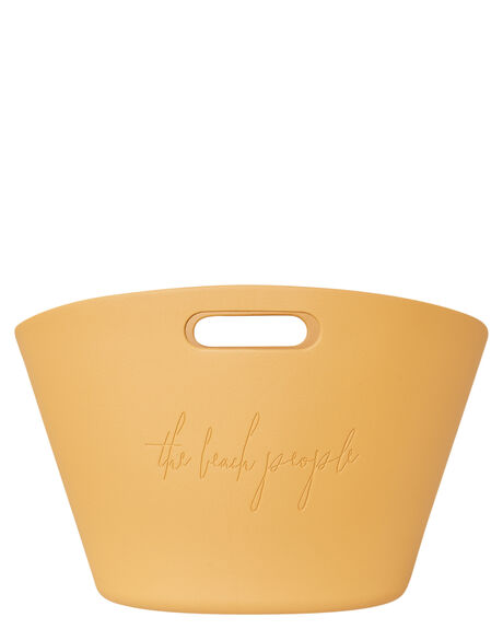 MUSTARD WOMENS ACCESSORIES THE BEACH PEOPLE BEACH ACCESSORIES - BGP1210OMSTD
