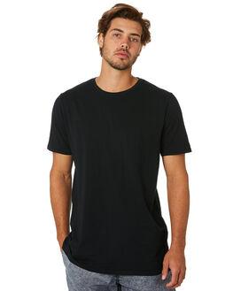 BLACK MENS CLOTHING ZANEROBE TEES - 152-MTGBLK