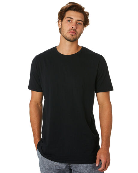 BLACK MENS CLOTHING ZANEROBE TEES - 152-MTGBLK
