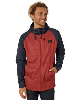 BITTERS HEATHER MENS CLOTHING BURTON JUMPERS - 165381960