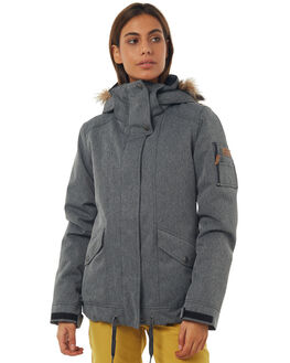 HERRINGBONE GREY BOARDSPORTS SNOW ROXY WOMENS - ERJTJ03114KPV0