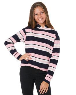 PINK NAVY STRIPE KIDS GIRLS EVES SISTER JUMPERS + JACKETS - 9531023STR