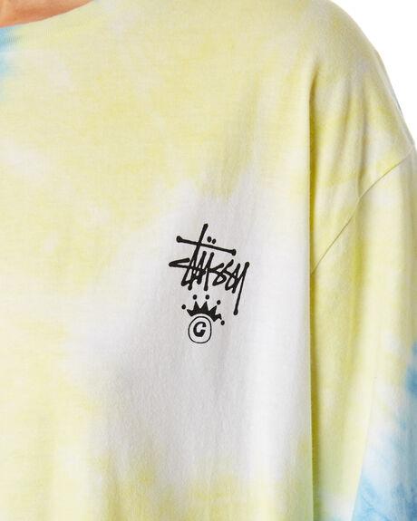 MULTI TIE DYE WOMENS CLOTHING STUSSY TEES - ST192006MUL