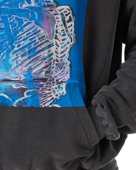 VINTAGE BLACK MENS CLOTHING THE PEOPLE VS JUMPERS - AW21M036VBLK
