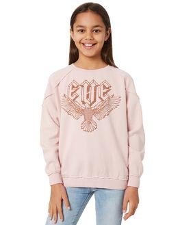 PALE ROSE KIDS GIRLS EVES SISTER JUMPERS + JACKETS - 9551008PNK