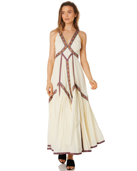 WHITE WOMENS CLOTHING TIGERLILY DRESSES - T393403WHT