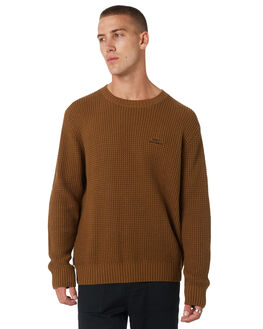 TOBACCO MENS CLOTHING MISFIT KNITS + CARDIGANS - MT095302TOBCO
