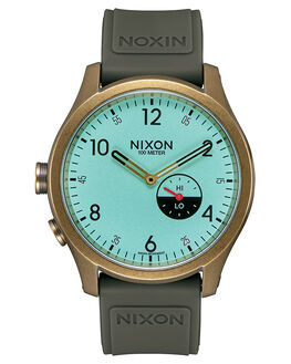 BRASS MINT SURPLUS MENS ACCESSORIES NIXON WATCHES - A11592533