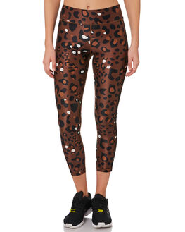 TOBACCO MULTI WOMENS CLOTHING THE UPSIDE ACTIVEWEAR - USW419044TOBAC