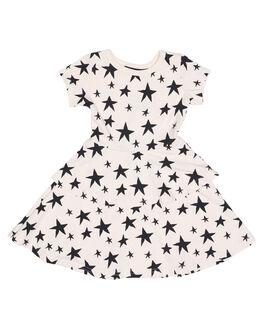 STAR PRINT KIDS TODDLER GIRLS ROCK YOUR BABY DRESSES - TGD1772-SSSTR