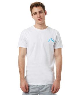 WHITE MENS CLOTHING RUSTY TEES - TTM1744WHT
