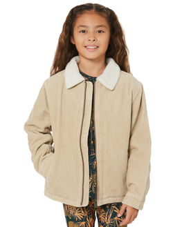 LIGHT FENNEL KIDS GIRLS RUSTY JUMPERS + JACKETS - JKG0003LFN