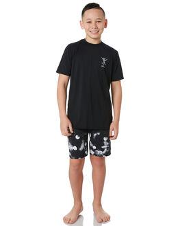 BLACK KIDS BOYS SWELL TOPS - S3202050BLACK