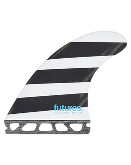BLACK WHITE BOARDSPORTS SURF FUTURE FINS FINS - JFL-010205BWB