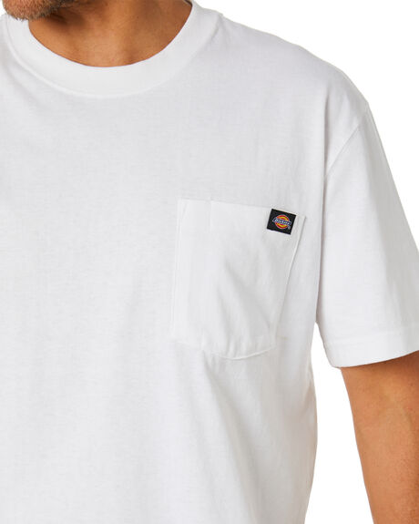 WHITE MENS CLOTHING DICKIES TEES - WS450WH