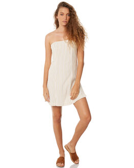 STRIPE WOMENS CLOTHING ZULU AND ZEPHYR DRESSES - ZZ1986STR
