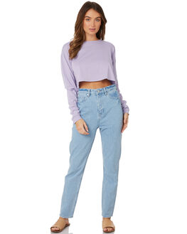 LAVENDER WOMENS CLOTHING SWELL TEES - S8189100LAVDR
