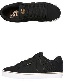 BLACK BRONZE MENS FOOTWEAR ETNIES SKATE SHOES - 4107000273-987